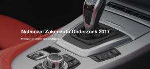 Nationaal zakenauto onderzoek 2017